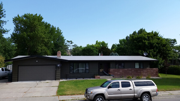 residential roof installation in billings mt
